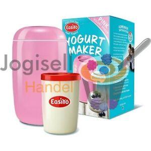 EasiYo Joghurtbereiter (Pink) für 1Kg Joghurt