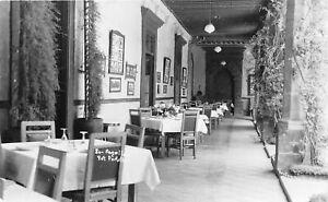 H71/ Foreign Postcard Fot Portilla Mexico RPPC c1940s San Angel Inn 90