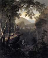 DURAND ASHER BROWN KINDRED SPIRITS ARTIST PAINTING OIL CANVAS REPRO ART DECO