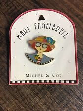 Mary Engelbreit Pin Girl With Glasses