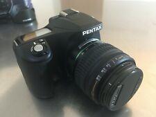 Pentax K100D Super Digital SLR Camera Boxed Kit w/18-55mm Lens + Extras