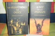 LOS GUARDIANES DEL OESTE, REY MURGOS CRONICAS MALLOREA 1 2 DAVID EDDINGS PLANETA
