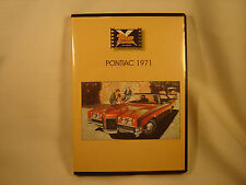PONTIAC 1971 CLASSIC CAR DVD COLLECTION GM