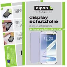 2x Samsung Galaxy Note 2  Protector de Pantalla protectores mate