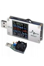 AVHzY USB Power Meter Tester Digital USB Load Current Tester Voltage. New