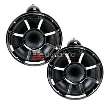 "Wet Sounds REV10B-X Revolution 10"" EFG 4 ohm HLCD Marine Tower Speakers New"