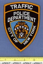 NEW YORK CITY TRAFFIC UNIT NYC NY Sheriff Police Patch FE MOTORCYCLE