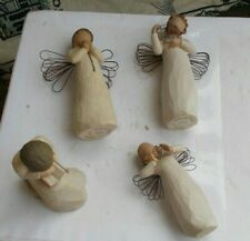 Lot Vintage Willow Tree Figurines Statue Angels Wisdom Just For You Loving 2008