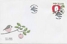 Aland 2016 FDC Seasons SEPAC 1v Set Cover Apples Fruits Fruit Stamps