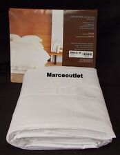 Hudson Park 600 Thread Count 100% Egyptian Cotton KING Flat Sheet White