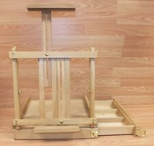 Unbranded / Generic Adjustable Wooden Easel With Pull Out Drawer Only *Read*