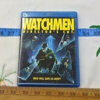 Watchmen (Blu-ray Disc, 2009, Directors Cut) - EUC