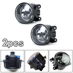2x Car Drive side Fog Light Lamp + H11 55W Right & left Side Bulbs Accessories