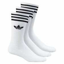adidas Solid Crew  Socks White Men