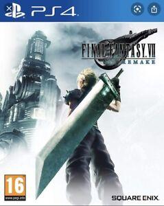 Final Fantasy 7 Remake, PS4