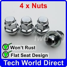 ALLOY WHEEL NUTS - TOYOTA (M12x1.5) X4 LUG BOLT STUD SCREW TOP QUALITY b[A10]
