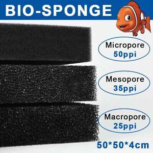 Aquatic Bio Sponge Filter Media Pad Biochemical Foam Filter Fish Sump-Pond Sheet