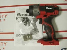 "Bauer 1781C-B1 20V Hypermax Lithium 1/4"" Hex Compact Impact Driver Tool Only NEW"