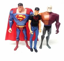 "DC Comics Justice League 5 ""CARTOON cifre x 3 METAMORPHO, Superman & soli Superboy"