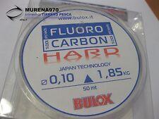 MONOFILO BULOX FLUORO CARBON 100% HARD 50mt 0,10mm 1,85kg - FIL72