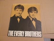 Scarce the Everly Brothers Promotional 26 Page Book Warner Bros Early 1970S Rare