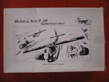 maquette avion LUFTWAFFE PLANET MODELS BLOHM & VOSS P.211  German Project 1/48