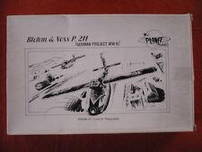 maquette avion LUFTWAFFE PLANET MODELS BLOHM & VOSS P.211  German Project 1/48