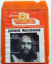CARTRIDGE TRACK TAPE CASSETTA STEREO 8 DEMIS ROUSSOS MY ONLY FASCINATION