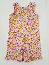 Hanna Andersson Floral Romper - size 80 18-24 months
