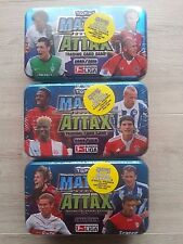 Match Attax - 09/10 - 3 different Tin Boxes-New-Original Packaging