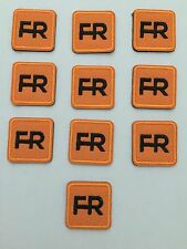 """Qty. 10 fr patches - 1"""" square.  Iron on or sew on."""