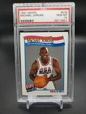 1991 Hoops USA Michael Jordan #579 PSA 10 GEM MINT