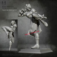 Chun-Li Unpainted 75mm Resin Model Kit Unassembled Garage Kit GK Figure Model