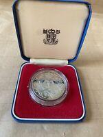 1977 Queen Elizabeth 11 Silver Jubilee Proof Royal Mint Crown,2 stamps