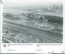 1976 Olympic Games Site in Montreal Canada Original News Service Photo