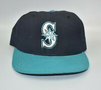 Seattle Mariners New Era 59FIFTY Vintage MLB Fitted Wool Cap Hat - Size: 7 3/8