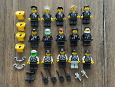 Lego - Lot of 15 Classic Town Police Officer Policeman Policewomen Mini Figures
