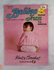 Babies Are Such Fun To Dress - American Thread Book 220 - 10 Patterns Sets