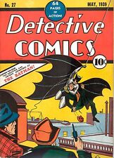 BATMAN  1ST EDITION DETECTIVE COMIC METAL SIGN: HOME DECOR:MAN CAVE: GREAT GIFT