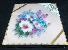 Vtg Baumgarten Rice Paper Silk Effect Napkin Luncheon JAPAN Collage Decoupage
