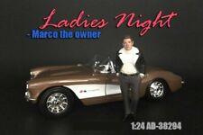 LADIES NIGHT MARCO FIGURE AMERICAN DIORAMA 38294 1/24 scale DIECAST CAR