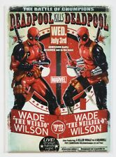Deadpool Vs Deadpool FRIDGE MAGNET Marvel Comics Wade Wilson