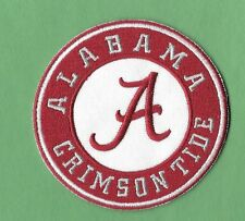 "New Alabama Crimson Tide 3"" Iron on Patch Free Shipping"