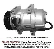 Volvo S60 S80 V70 XC70 XC90   OEM Diesel Kiki / Zexel DKS-17   AC Compressor
