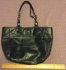 Coach - Designer Shoulder Bag - Black Leather - Classic Handbag Great Condition