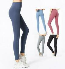 Women's Leggings Buttery Soft Yoga Pants Gym Fitness Running Sports Comfy New L
