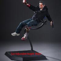 PJTOYS Stand For 1/6 Scale Action Figure Hot Toys Display Metal Platforms Model