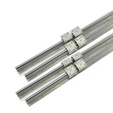 4 SUPPORTED RAILS SBR16-600MM LINEAR SLIDE GUIDE UNIT+8 BEARING BLOCKS FOR CNC