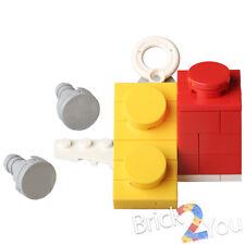 Lego Yellow & Red Scaled Bricks w/ 2 Screws & Sticker 76039 Ant-Man Final Battle