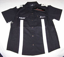 Holden Special Vehicles HSV E Series Ladies Black Pit Crew Shirt Size 10 New